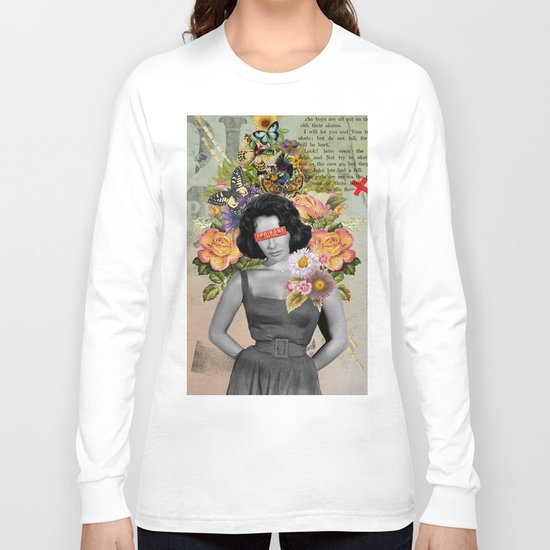 Public Figures - Liz Taylor Long Sleeve T-shirt