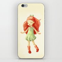 ginger iPhone & iPod Skins featuring Ginger by Freeminds