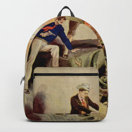 Giant crabs attack Backpack