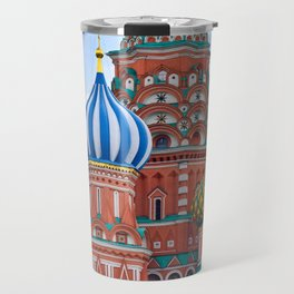 Domes Of St. Basil Travel Mug