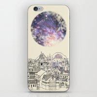 cincinnati iPhone & iPod Skins featuring Cincinnati Fairy Tale by Signe