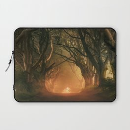 When the day begins... Laptop Sleeve