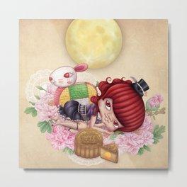 Rabbit Tooth Moon Festival Metal Print