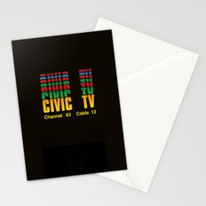 CIVIC TV Stationery Cards