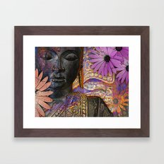 Colorful Buddha - Jewels of Wisdom - Zen Meditation Art Framed Art Print