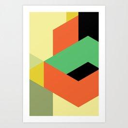 Minimal Direction n° 3 Art Print