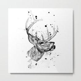 deer 4 Metal Print
