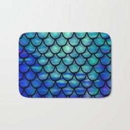 Ocean Mermaid scales Bath Mat