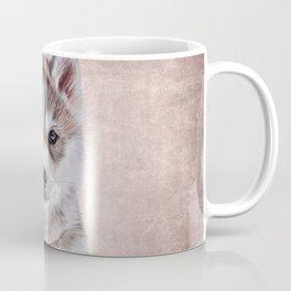 Drawing puppy Husky Coffee Mug