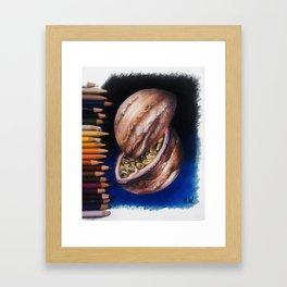 """""""Jupiter Passionfruit"""" Drawing Framed Art Print"""