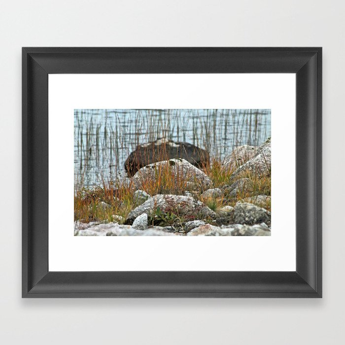 It's all about perspective Framed Art Print
