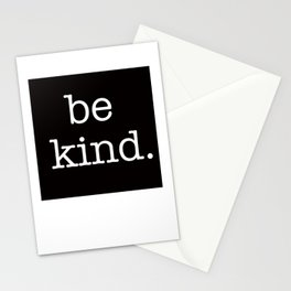 be kind large print Stationery Cards