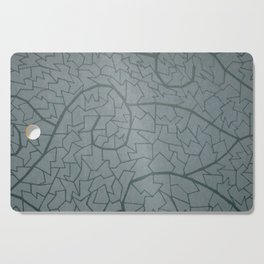 mosaic waves Cutting Board