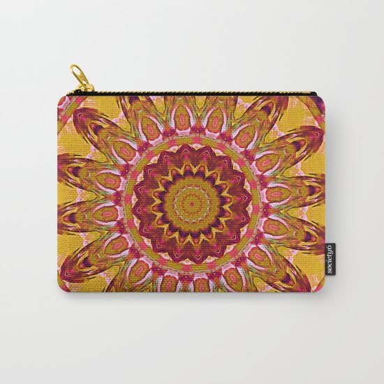 The goldish mandala Carry-All Pouch
