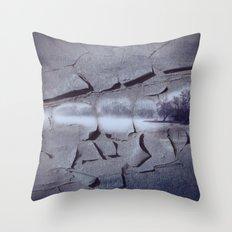 Peeling off YesterDays Throw Pillow