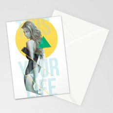 THIS IS YOUR LIFE Stationery Cards