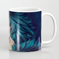 howl Mugs featuring Howl by Niniel