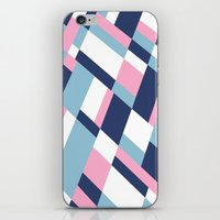 matisse iPhone & iPod Skins featuring Matisse Map Pink by Project M