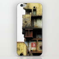 industrial iPhone & iPod Skins featuring Industrial by mimifaktur