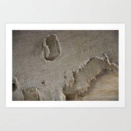 Sackcloth Art Print