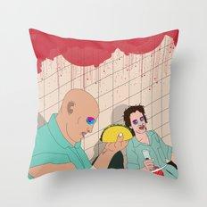Natural Born Tacos Throw Pillow