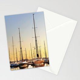 Luxury Sunset Sailing Stationery Cards