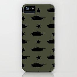 M1 Abrams Tank Pattern iPhone Case
