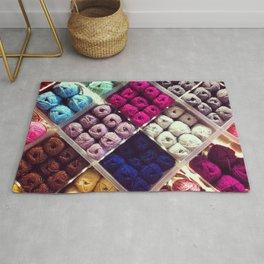 Yarn Display Rug