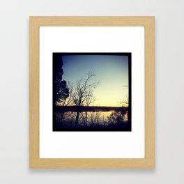 george washington birthplace II Framed Art Print