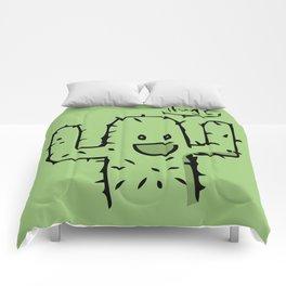 Hug? cactus free hug Comforters