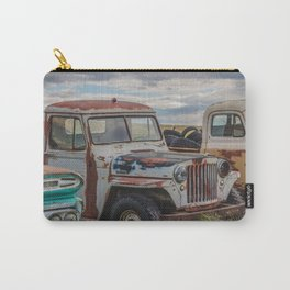 Rusty Car Row 4 Carry-All Pouch
