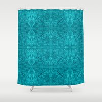 happy birthday Shower Curtains featuring Happy Birthday by Masonjohnson