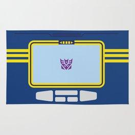 Soundwave Transformers Minimalist Rug
