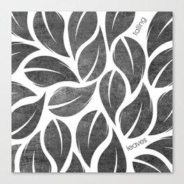 falling leaves VIII Canvas Print