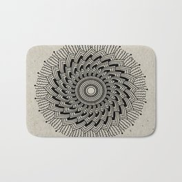 Digital Mandala #2 Bath Mat
