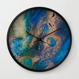 "Tides of Change | ""Nile Tributaries"" (1) Wall Clock"