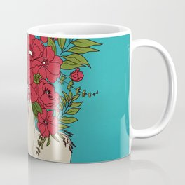 Blooming Red Coffee Mug