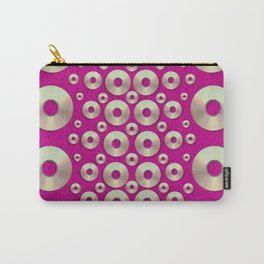Going gold or metal on fern pop art Carry-All Pouch