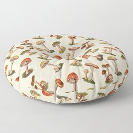 Magical Mushrooms Floor Pillow