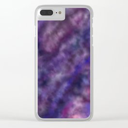 Amethyst Sky Clear iPhone Case