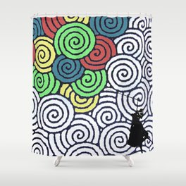 balloon Shower Curtain