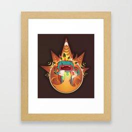 Element Framed Art Print