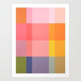 Distressed Cube Vol. 2 Art Print