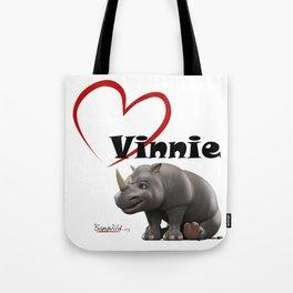 Love Vinnie  Tote Bag