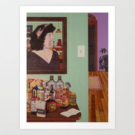 just what is it that makes today's homes so different, so appealing? Art Print