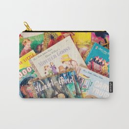 Little Vintage Library Carry-All Pouch