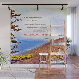 High Places Wall Mural