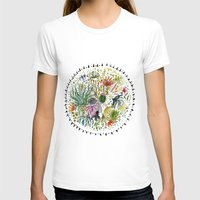 succulents T-shirts featuring Succulents Mandala by Hannah Margaret Illustrations