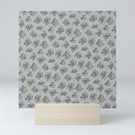 Scribble Pattern Mini Art Print