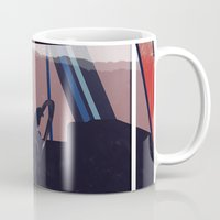 taxi driver Mugs featuring Taxi driver by AnnArk